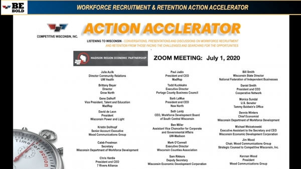 Action Accelerator: MadREP